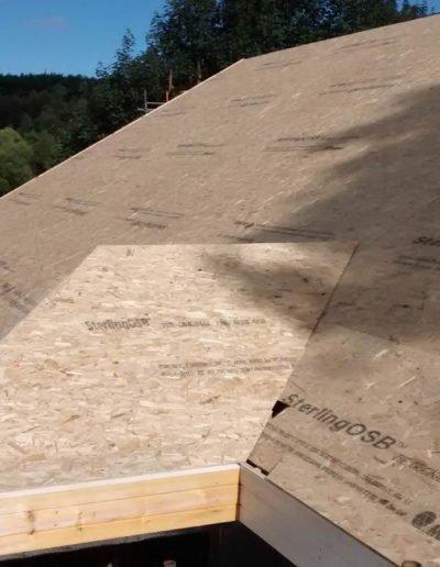 complete roof frame