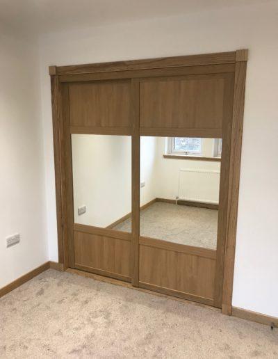 sliding doors with mirror