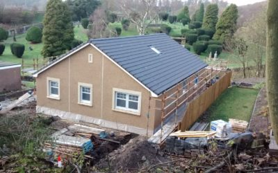 New build home in fife