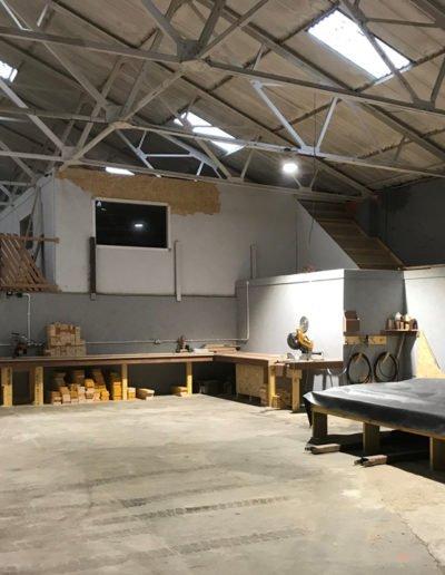 timber frame production scotland