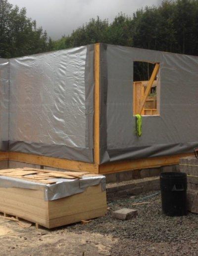 timber house frame construction scotland