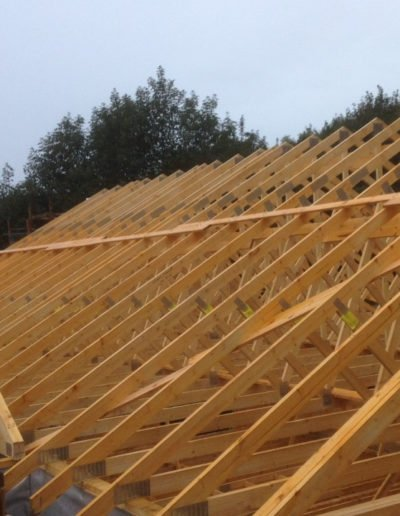 timber roof frame delivery scotland