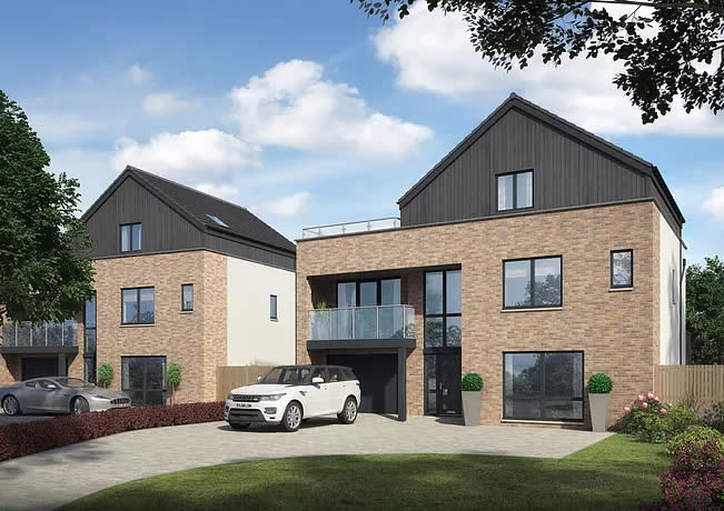 luxury town house frame manufacture scotland