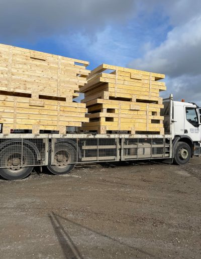 timber frame delivery scotland